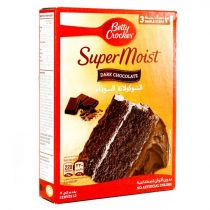 Betty Crocker Super Moist Delights Dark Chocolate Cake Mix 500g