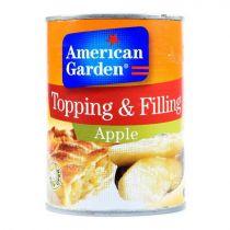 American Garden Apple topping & filling  595g