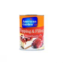 American Garden Strawberry Pie Filling 595g