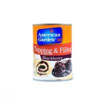 American Garden Blackberry topping & filling 595g