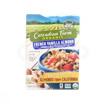 Cascadian Farm Granola Cereal French Vanilla Almond 368g