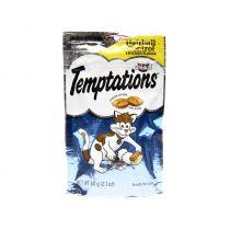 Whiskas Temptations Hairball Control Chicken Flavor Cat Treats 60g