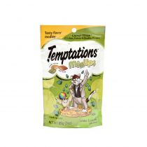 Whiskas Temptations Mix Ups Chicken Catnip & Cheddar Flavor Cat Treats 85g