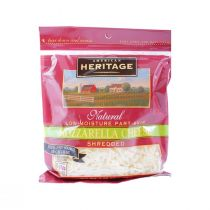 American Heritage Fat Free Shredded Mozzarella Cheese 227g