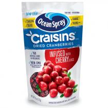 Ocean Spray Original Craisins infused with Cherry Juice 170g