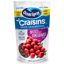 Ocean Spray Original Craisins infused with Pomegranate Juice 170g