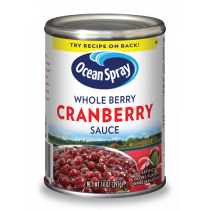 Ocean Spray Whole Berry Cranberry Sauce 397g