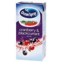 Ocean Spray Cranberry & Blackcurrant Juice Drink 1 Ltr