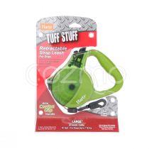 Hartz Tuff Stuff Retractable Strap Leash For Larg Dogs
