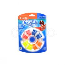 Hartz Chew 'n Clean Teething Ring For Dogs