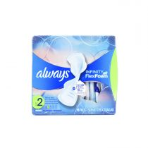 Always Infinity Heavy Flow Pads with Wings 16 Pcs