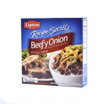 Lipton Recipe Secrets Beefy Onion Soup and Dip Mix 2X62g