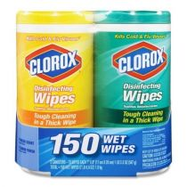 Clorox Disinfecting Wipes Value Pack of 2