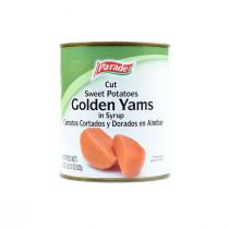 Parade Golden Yams in Syrup 822g