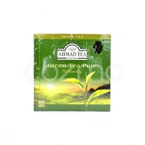 Ahmad Tea Pure Green Tea 100 Foil Bags