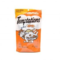 Whiskas Temptations Tantalizing Turkey Flavour Cat Treats 85g