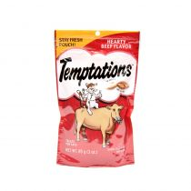 Whiskas Temptations Hearty Beef Cat Treats 85g