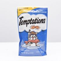 Whiskas Temptations Savory Salmon Flavor Cat Treats 85g