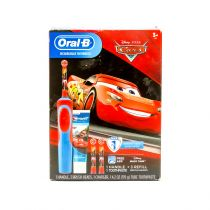 Disney Pixar Cars Oral-B Kids Rechargeable Electric Toothbrush Bundle