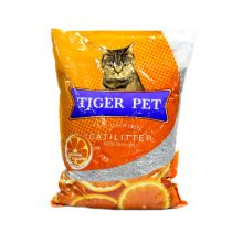 Tiger Pet Clumping Orange Cat Litter 5 Ltr