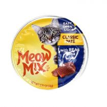 Meow Mix Cat Food Classic Pate with Real Tuna 78g