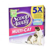 Scoop Away Multi-Cat Clumping Cat Litter Scented 6.35 Kg