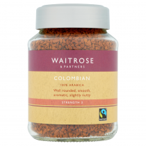Waitrose Partners Fairtrade Colombian Coffee