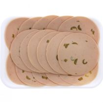Jawharat Toulkarem Turkey Mortadella With Olives