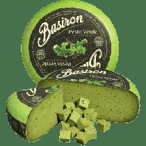 Basiron Green Pesto Gouda Cheese