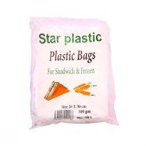 Star Plastic Nylon Bags (20cm X 30cm)