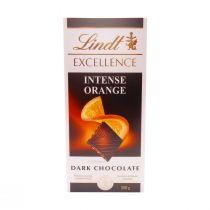Lindt Excellence Dark Chocolate Intense Orange (100 g)