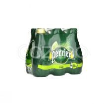 Perrier Natural Sparkling Mineral Lime Water 6x200ml Pack