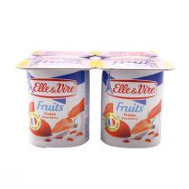 Elle & Vire Fruits (Strawberry Flavour)