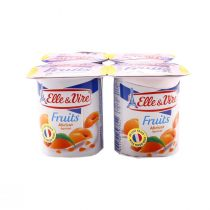 Elle & Vire Low Fat Dessert with Apricot (125 g)