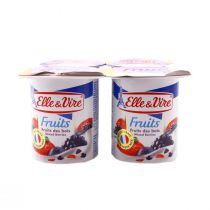 Elle & Vire Low Fat Dessert with Mixed Berry (125 g)