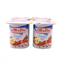 Elle & Vire Low Fat Dessert with Cherry (125 g)