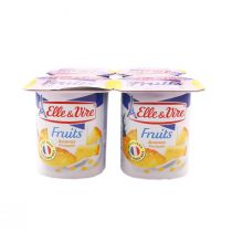 Elle & Vire Low Fat Pineapple (125 g)