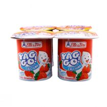 Elle & Vire Low Fat Yag Go Strawberry (125 g)