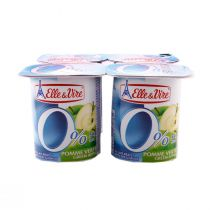 Elle & Vire Light Green Apple (125 g)