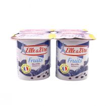 Elle & Vire Fruits (Blackcurrant Flavour)