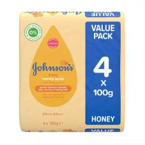 Johnson's Baby Honey Soap 4*100g