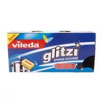 Vileda Glitzi Sponge (3 pcs)