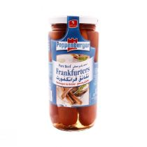 Poppenburger Pure Beef Frankfurters  5Pcs
