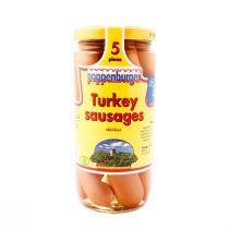 Poppenburger Turkey Sausages Skinless (5 pcs)