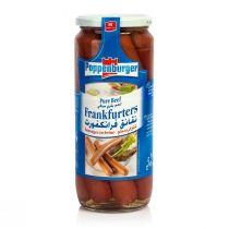 Poppenburger Frankfurters Pure Beef (8 pcs)