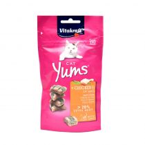 Vitakraft Cat Yums Chicken and Cat Grass 40g