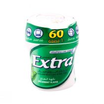 Wrigley's Extra Gum Spearmint Flavor Bottle (60 pcs)