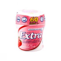 Wrigley's Extra Gum Strawberry Flavor Bottle (60 pcs)