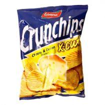 Lorenz Crunchips Cheese & Onion 150g