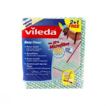 Vileda Floor Cloth Easy Clean 30% Microfibre (2plus1 Free)